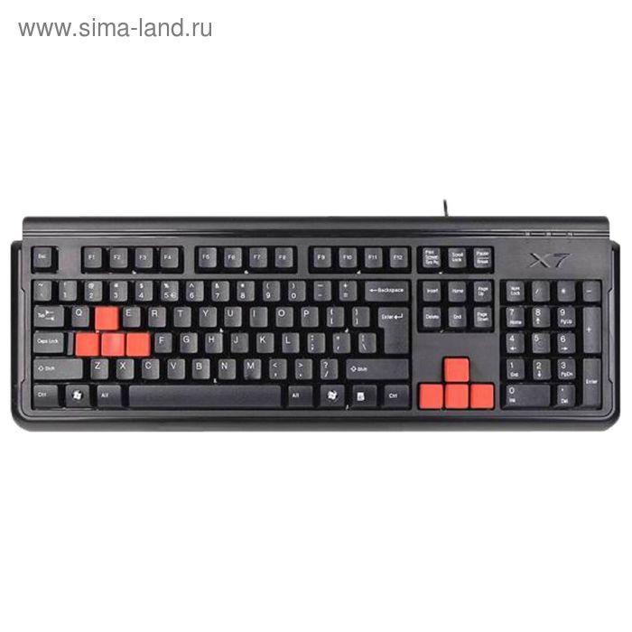 Клавиатура A4 X7-G300, черный