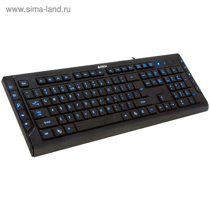 Клавиатура A4 KD-600L, черный, USB