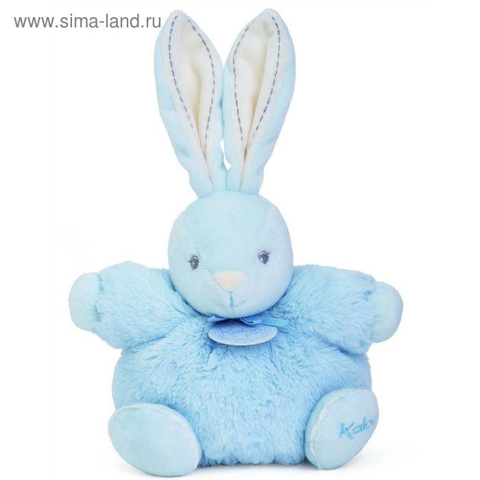 """Игрушка """"Заяц маленький"""" Kaloo, цвет голубой, коллекция Жемчуг, размер 18 см"""