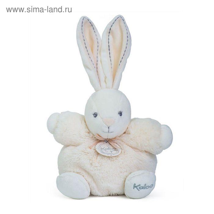 """Игрушка """"Заяц маленький"""" Kaloo, цвет кремовый, коллекция Жемчуг, размер 18 см"""