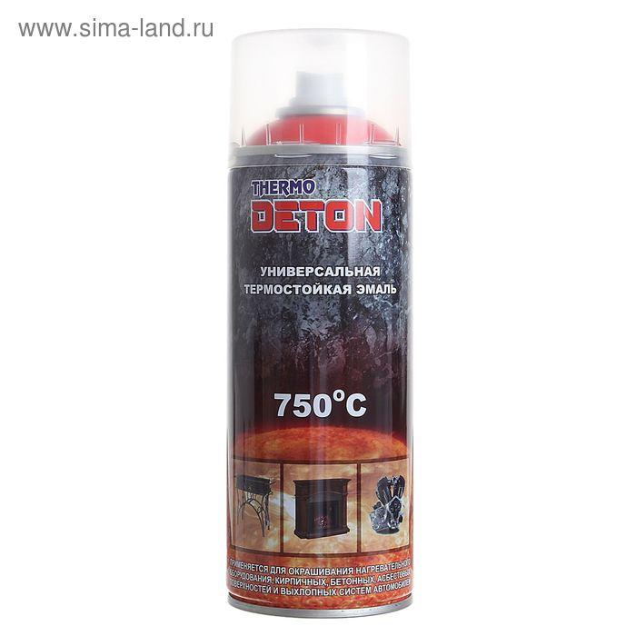 """Эмаль термостойкая красная """"Deton"""", аэрозоль 520 мл"""