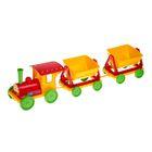 Поезд-конструктор с двумя прицепами, МИКС