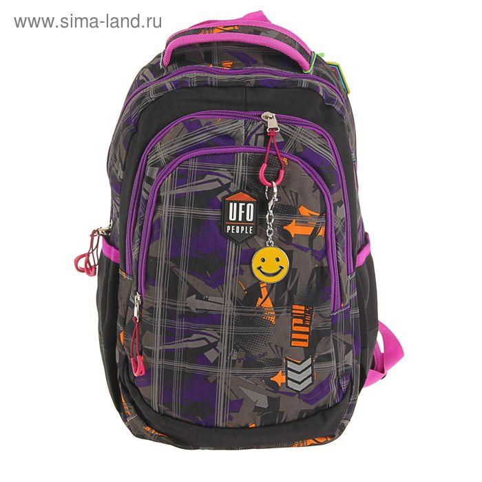 Рюкзак школьный эргономичная спинка для мальчика UFO People 40*28*17 5945