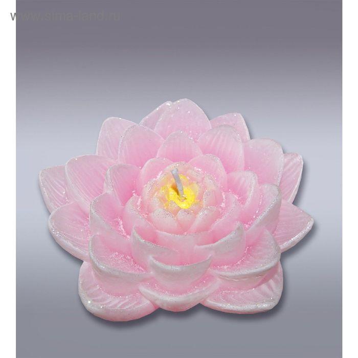 Свеча лилия розовая