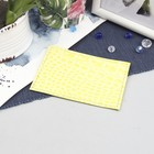 Футляр для карточки, кайман, цвет жёлтый
