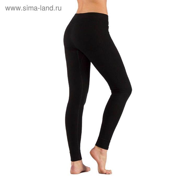 Штаны женские Vins, комбинированный материал 290 г/м2, цвет чёрный, L-XL
