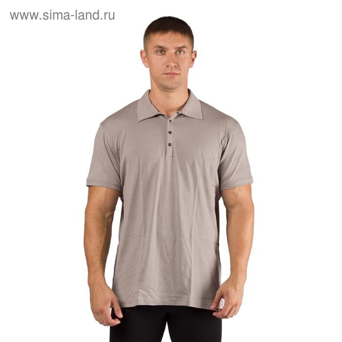 Футболка  мужская DINGO/ кор. рукав/ шерсть 160/ серый / M