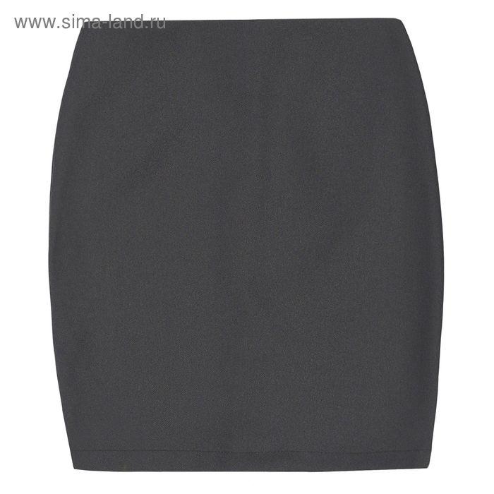 Юбка для девочки, рост 122 см, цвет тёмно-серый, 09-310