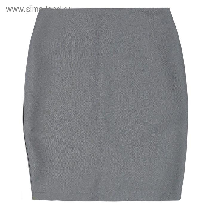 Юбка для девочки, рост 140 см, цвет серый, 09-310