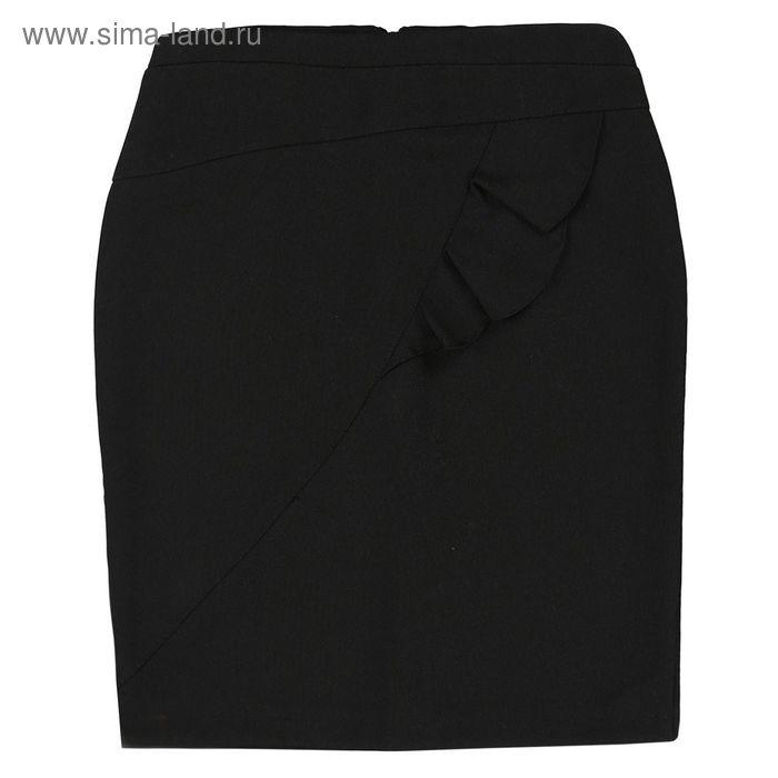 Юбка для девочки, рост 128 см, цвет чёрный 09-311