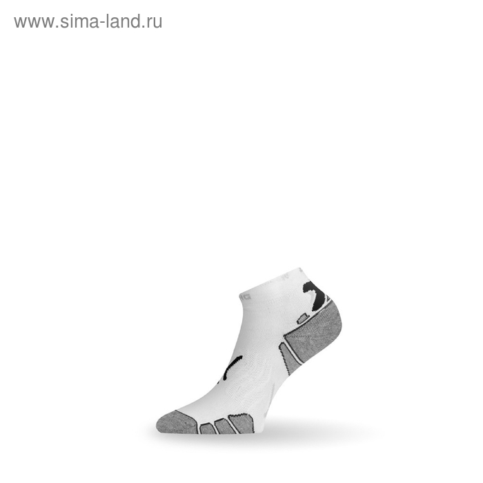 Носки RUN 009 / синтетика / белые с рисунком L летние