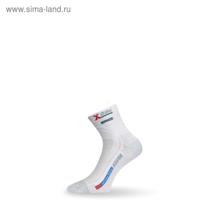 Носки трекинговые XOS 001 / кулмакс / серебряные нити/ белый S летние
