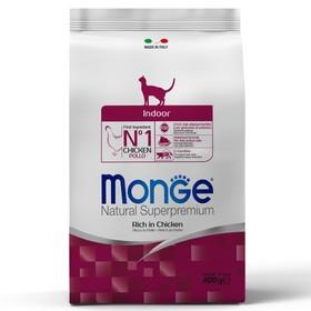 Сухой корм для домашних кошек Monge Cat Indoor, 400 г