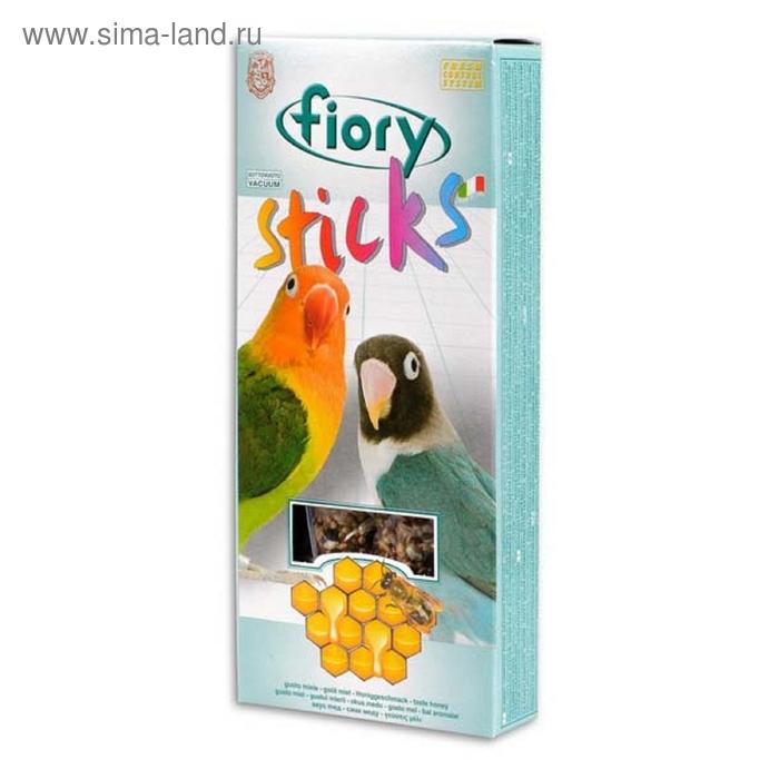 Лакомство для средних попугаев FIORY Sticks с медом, 2 х 60 г