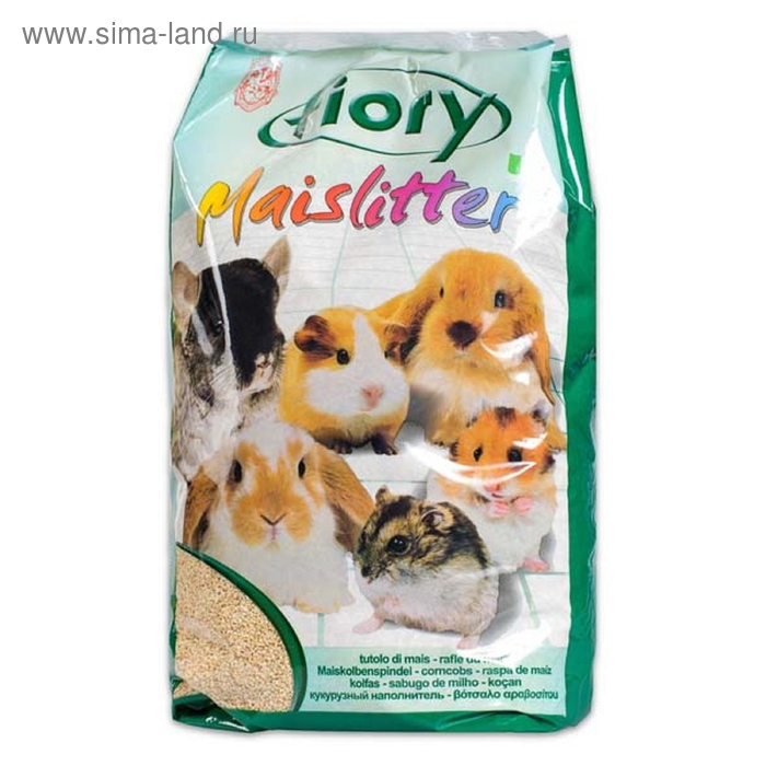 Наполнитель кукурузный для грызунов FIORY Maislitter, 5 л