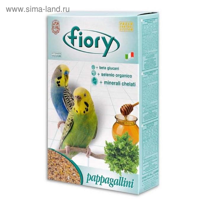 Сухой корм для волнистых попугаев FIORY Pappagallini, 1 кг