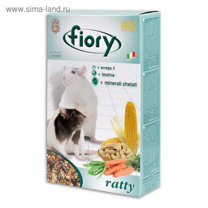 Сухой корм для крыс FIORY Ratty, 850 г
