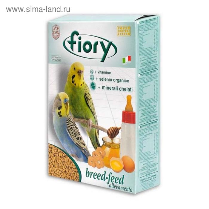 Сухой корм для разведения волнистых попугаев FIORY Breed-feed, 400 г