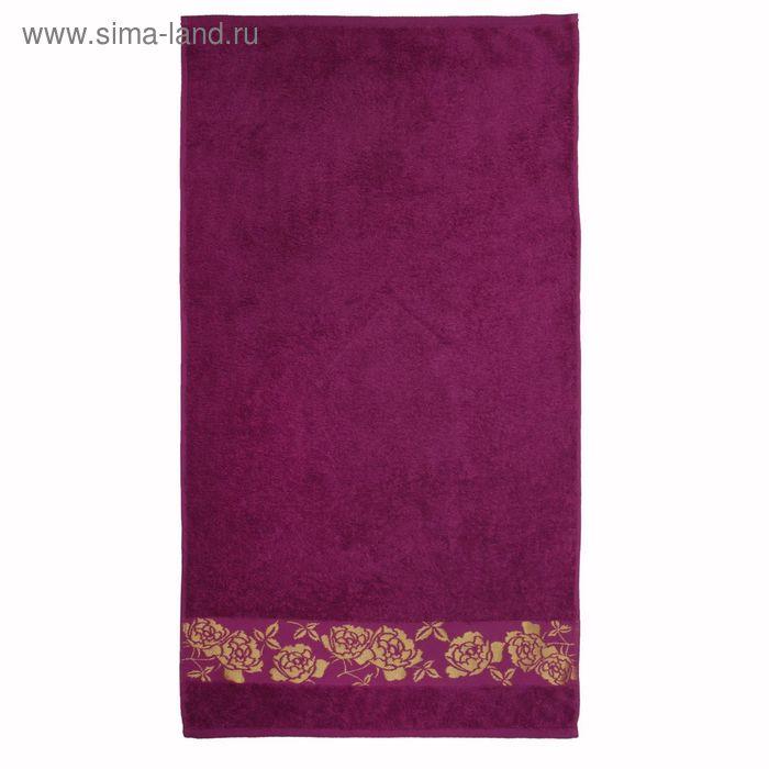 Полотенце махровое Gold flower ПЦ-2601-2139 цв276 50х90 см хл100% 420 гр/м