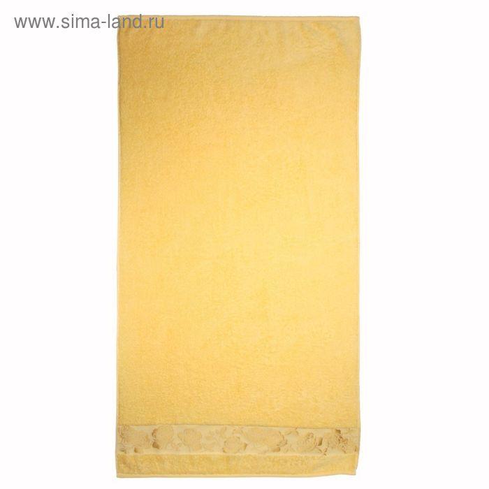 Полотенце махровое Gold flower ПЦ-3501-2139 цв406 70х130 см хл100% 420 гр/м