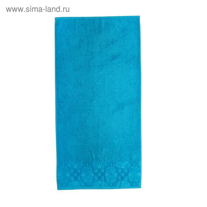 Полотенце махровое Bagliore ПЦ-2601-2525 цв52 50х90 см хл100% эффект велюра 460 гр/м