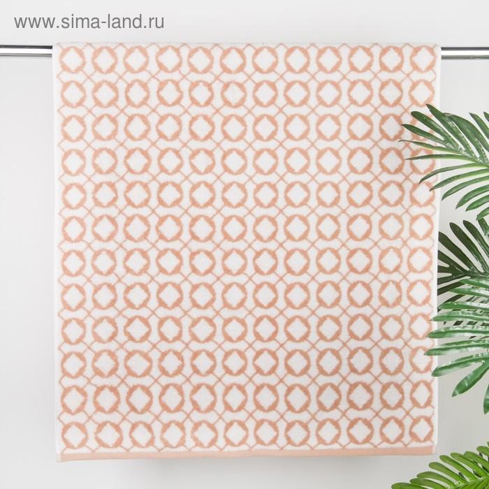 Полотенце махровое Rhombus ПЦ-3502-2482 цв2 70х130 см хл100% 460 гр/м