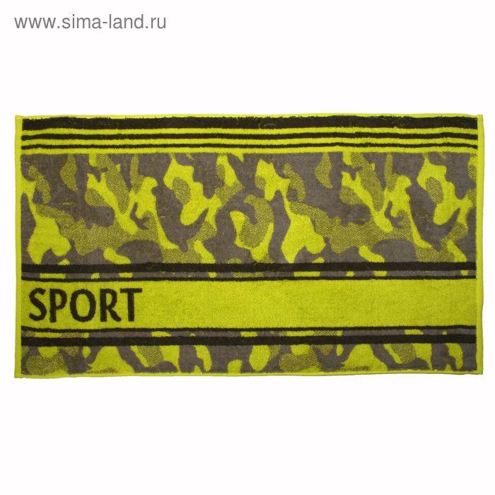 Полотенце махровое Khaki sport ПЦ-2602-2032-2 50х90 см хл100%