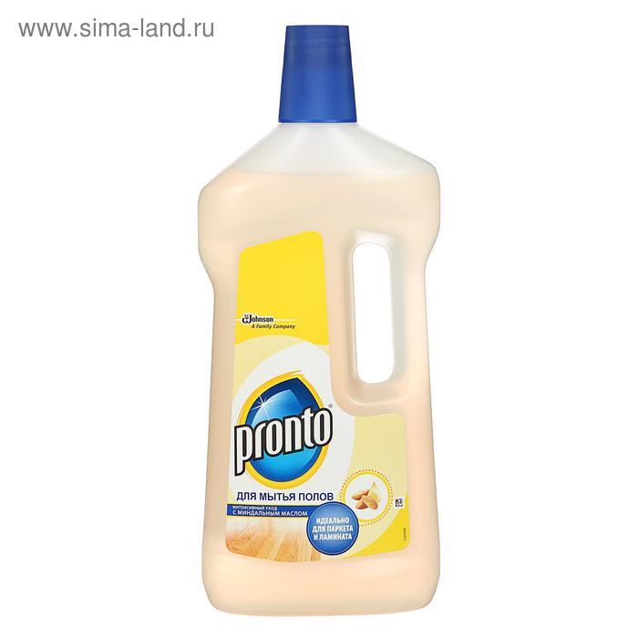 Моющее средство Рronto для мытья полов  миндальным маслом, 750 мл