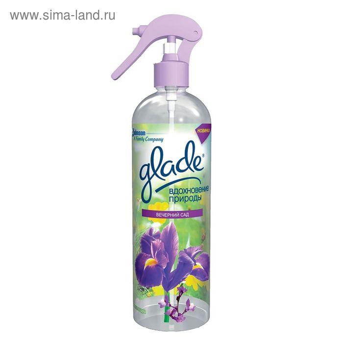 """Освежитель воздуха Glade """"Вдохновение природы"""", вечерний сад, 405 мл"""