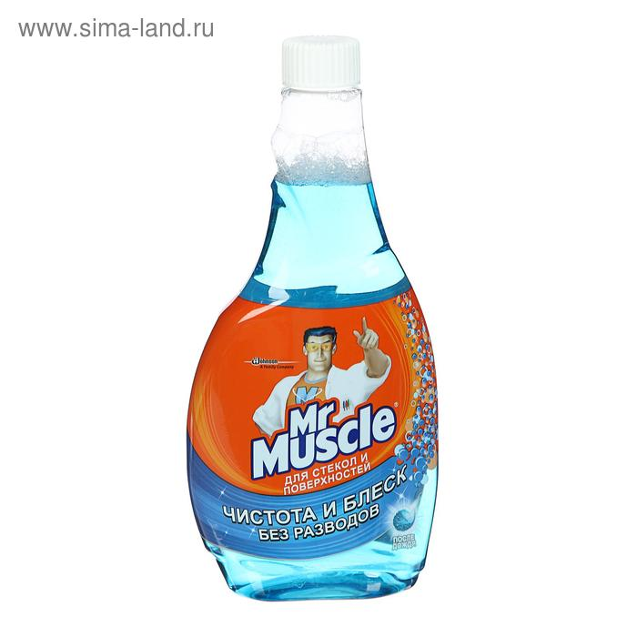 Чистящее и моющее средство Mr. Muscle для стёкол и других поверхностей, сменная бутылка, 500 мл