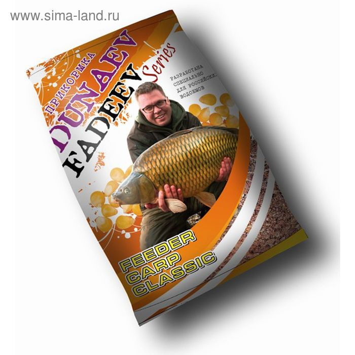 Прикормка Dunaev-Fadeev Feeder Carp Classic, вес 1 кг