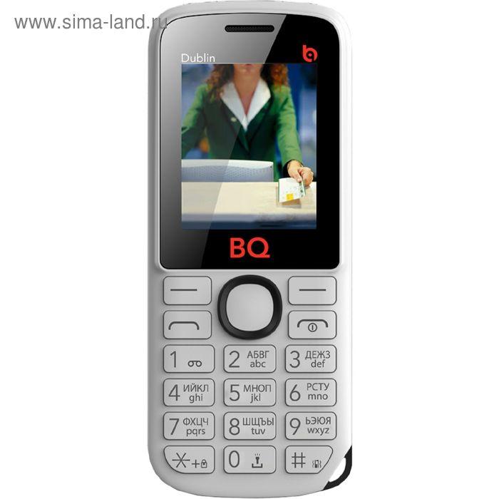 Мобильный телефон BQ M-1818 Dublin, белый