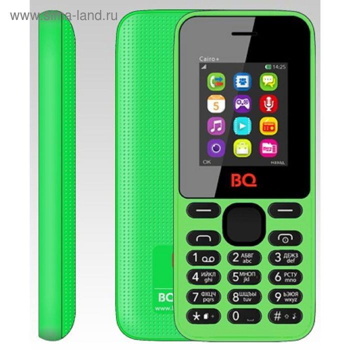Мобильный телефон BQ M-1826 Cairo+, зелёный