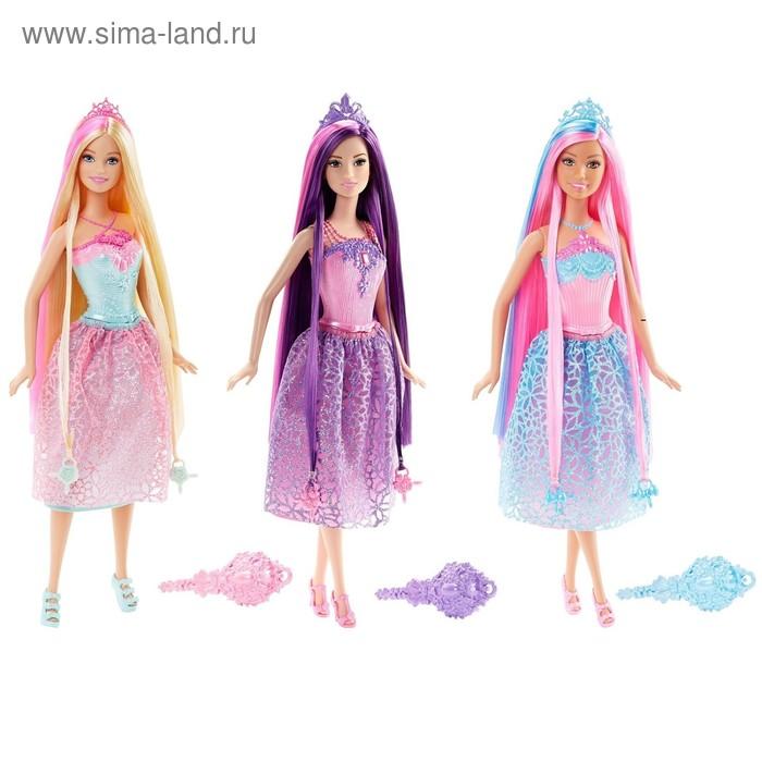 """Кукла """"Принцесса с длинными волосами"""", МИКС"""