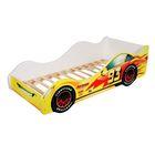 Кровать машина «Тачка жёлтая»