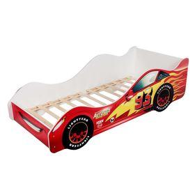 Кровать-машина «Тачка красная»