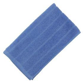Полотенце махровое, цвет синий, размер 47х90 см, хлопок 280 г/м2