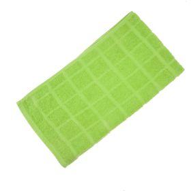 Полотенце махровое банное, цвет светло-салатовый, размер 80х160 см, хлопок 340 г/м2