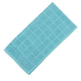 Полотенце махровое банное, цвет голубой, размер 80х160 см, хлопок 340 г/м2