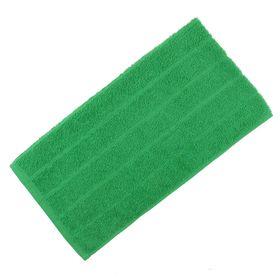 Полотенце махровое, цвет зелёный, размер 40х70 см, хлопок 280 г/м2