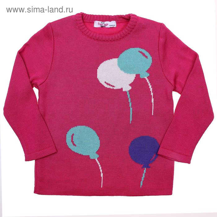 Джемпер для девочки, рост 104 см, цвет розовый (арт. ZG 33004-F1_Д)