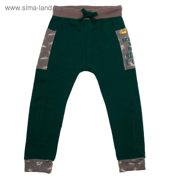 Брюки для мальчика, рост 116 см (64), цвет зелёный (арт. ZB 10245-G1_Д)
