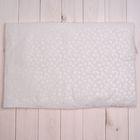 Подушка детская, размер 58*38 см, цвет белый 12-316 Тм
