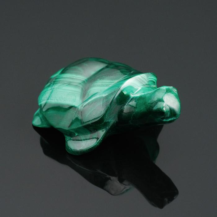 """Сувенир """"Черепаха"""" №1, малахит"""