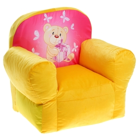 Мягкая игрушка 'Кресло Мишутка', цвета МИКС Ош
