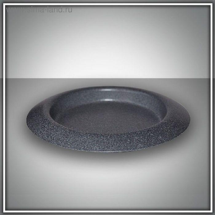 Подсвечник чашка 110 серый