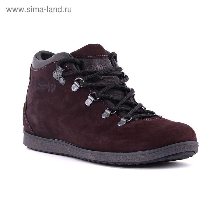 Ботинки TREK Спорт 77-23 мех ( коричневый ) (р. 40)