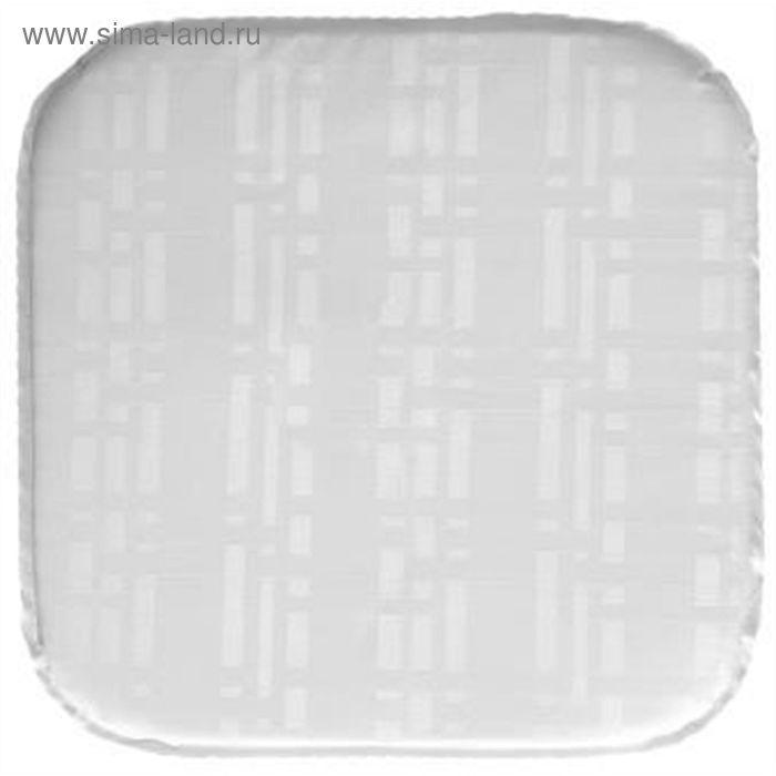 Подушка на табурет, размер 34х34х2 см, Silk 1707107