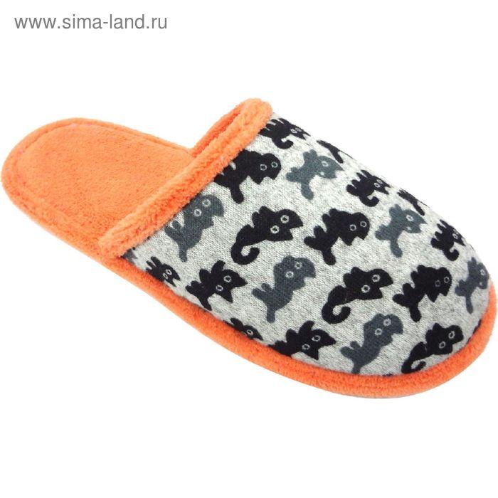 """Тапочки женские """"Эконом"""", размер 36-40, цвет персиковый 135-5963 А"""