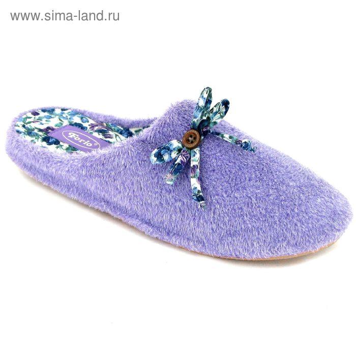 """Тапочки женские """"Уютные"""", размер 36-40, цвет сиреневый/лиловый/розовый 135-5470 К"""